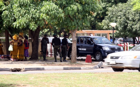 Police Seal Off Venue Of Anti-Corruption Conference In Abuja